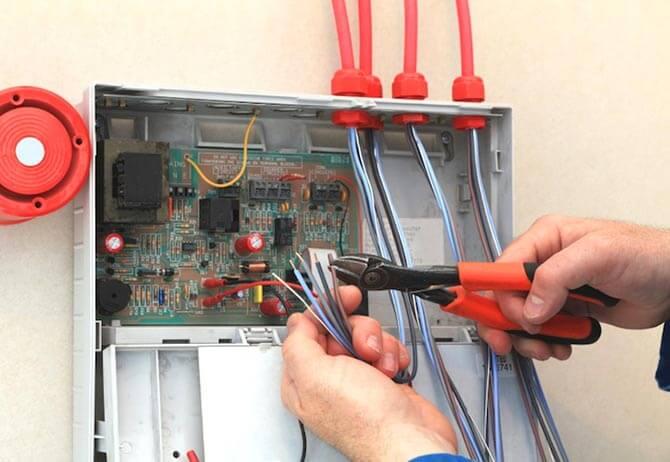 Ремонт автоматической пожарной сигнализации